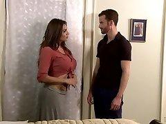 Curvy tranny Jessy Dubai penetrates anal hole of handsome lovemaking partner