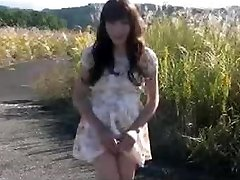 Miss Ayako Compilation of money-shots in public places