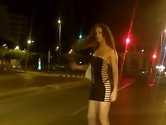 Nikki She-males is a street prostitute