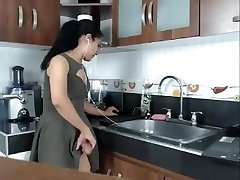 Big Dick Hot Latin She-creature Jerks on Cam