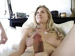 داغ بلوند, مادر دوست داشتنی و کیر بزرگ, زن کیردار, سکس با دوست دختر در وب کم