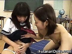 Hermaphroditism Teen at School!
