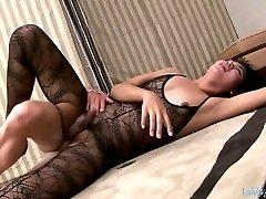 Sexy Thai ladyboys with small tits fucked