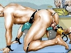 Milking Machine and Electro Butt Plug