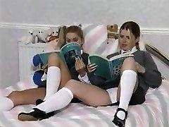 nubile lesbians
