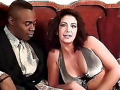Sophia Ferrari Sean Michaels interracial buttfuck italian brunette classic antique retro doggy style