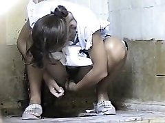 Russian Public Rest Room Spy Cam - Retro Voyeur 09