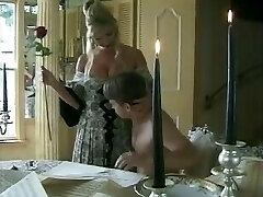 Hot MILF With Fat Pussy Draped Stud