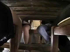 Old School porn clip featuring a sex loving French family