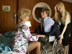 Sharon Mitchell, Jay Pierce, Marco in vintage-sex-Szene