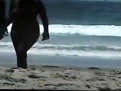nackt paar am strand