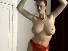 Echo beach bouncing xxl boobs disrobe dance tease