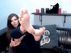 audreyorchid ukázať nohy na lj z Camshoots
