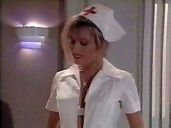 Vintage sestra scény. Cums na nohách