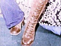 Linda Lovelace 8mm Slučky - Otvorené píča, vložka nohy!