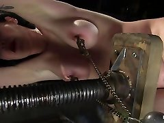 Sybil Hawthorne in Sybil Hawthorne: Retro Hotty Loves Pain To Get Off - Hog Tied