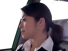 Crazy Japanese chick Nao Mizuki, Hikari Hino in Naughty Camper, Cunnilingus JAV video