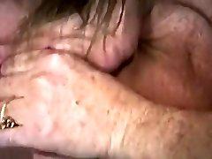 Big titted Classic Porn Amateur Sucking Meatstick
