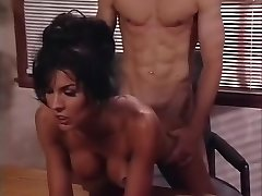 Cool porn industry star Anna Malle in best cunnilingus, facial adult video