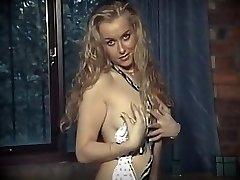 British school female uniform striptease