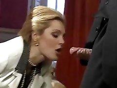 Najlepšie XXX hity z nádherný klasický porno hviezda Laure Sainclair