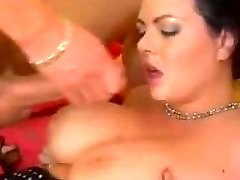 Great Jizz Flows on Big Tits 38