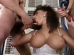 Sarah Young tit boink and facial