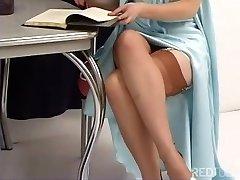 Justine Joli - Classic Girdle And Stocking