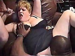 InterracialPlace.org - Vintage VHS BBW žena