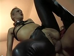 Linda Dolce as a subjugated whore visiting sinister archbishop