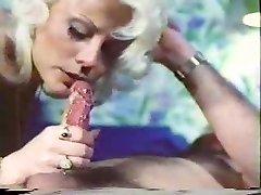 Vintage porn - blow-handjob - Cum Lick