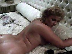 Vintage Brit Stevie Taylor Gets Her Ass Hole Splayed