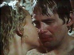 På 1970-tallet film scene Hard Ereksjon dusj sex scene