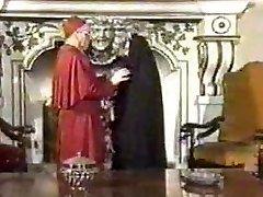 Retro Oral Creampie mit Nonne