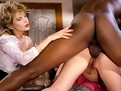 Barbarella, Moana Pozzi, Sean Michaels in well-suspended ebony retro pornography star doing latin chicks