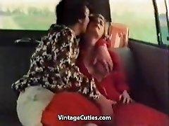 Kinky Girl Finger-tickled in a Car