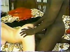 Classic Interracial - Sizzling Brunette Gets A Big Black Manmeat.elN
