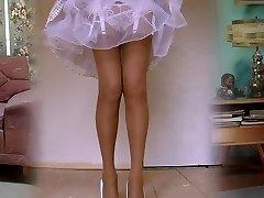 1950's ciorapi de nailon legshow