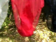 vintage nylon pošmyknutia a nohavičky