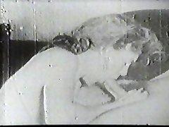 Horúce dievku sania vintage kohút