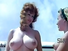 Antique nudist camp scene