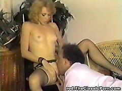 Klassinen retro vuosikerta klassinen pornstars