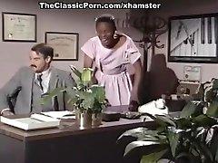 Mauvais DeNoir, Megan Leigh, Mike Horner in interracial fuck-fest
