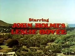 Old-school porn with John Holmes getting his big cock sucked