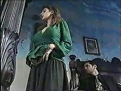 Stunning chick in classic porn movie 1