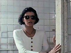 Blind woman at the bathtub house -- Euro vintage