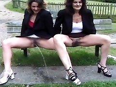 mix of British piss chicks