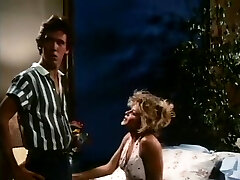 Youthful sexually excited pair in a classic porn vignette