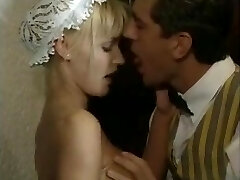 Anita blond sexy maid