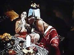 Arabian Queens vittu Valtava Musta Sudanin Kukko ja Iso ranskalainen Kulli